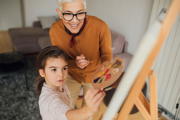 Teachers will gladly donate future services, like this one-on-one art lesson, if it means they can keep their paychecks now.