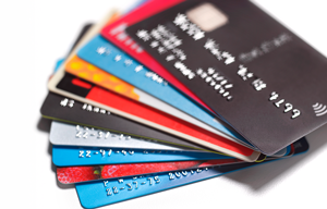 Transaction fees are common when paying online using credit cards.
